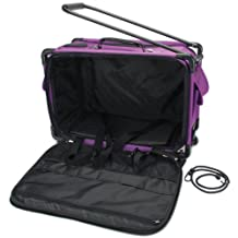 Tutto 5222MA-L-PURPL Art Supply Totes and Carrier Bags Machine on Wheels Case 21-Inch X 13-1/4-Inch X 12-Inch-Purple