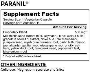 DrNatura Paranil Liver & Colon Purifying Complex