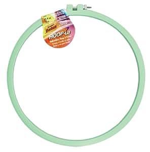 Hoop-La 14401.010 Embroidery Hoop, 10-Inch, Assorted Colors