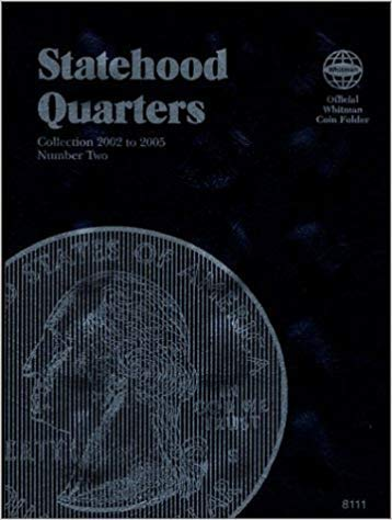 [1582381119] [9781582381114] Statehood Quarters #2 (Official Whitman Coin Folder) Collection 2002 to 2005 – Hardcover