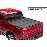 "BAK BAKFlip MX4 Hard Folding Truck Bed Tonneau Cover | 448329 | Fits 2015-20 Ford F150 5'6"" Bed"
