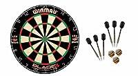 Winmau Blade 4 Dartboard + 6 McDart Steeldarts (6 Steeldarts)