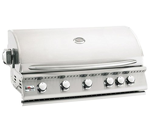Summerset Sizzler 40-inch 5-burner Built-in Natural Gas Grill With Rear Infrared Burner – Siz40-ng