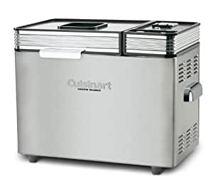 Cuisinart CBK-200 2 LB Convection Automatic Bread Maker, Stainless