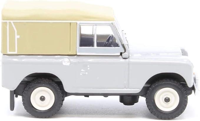 BNIB OO GAUGE OXFORD 1:76 76LR3S003 Land Rover Series III Canvas Mid Grey