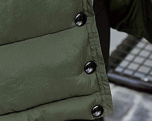 Qultid Parka Fuweiencore Longs Armée Couleur À Capuche Casual Manteaux Basiques M coloré Verte Pure Chaud Taille Jaune xXq5RwqHF