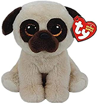 Ty Beanie Boos Ojos Grandes Kipper Marrón Canguro Búho Unicornio Gato Zorro Perro Panda Mono Peluches Peluche Peluche Gris Claro: Amazon.es: Juguetes y juegos