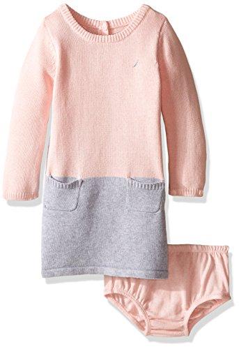 Nautica Girls Colorblock Sweater Dress