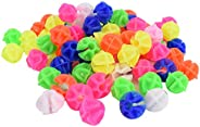 TRIXES 72 Pack of Bright Multicoloured Bicycle Beads