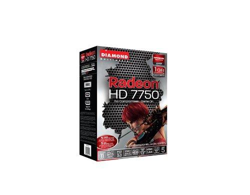 Diamond Multimedia AMD Radeon HD 7750 PCIE 1G GDDR5 Video Graphics Card - 7750PE51G by Diamond Multimedia