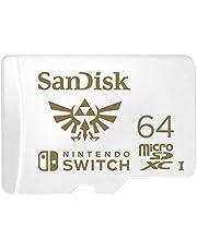 Sandisk Sdsqxat-064G-Gnczn Micro Sdxc Uhs-I In Licentie Gegeven Geheugen Kaarten Voor Nintendo Switch, 64Gb