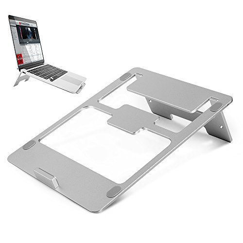 Laptop Stand Aluminum MacBook Pro Stand 7-15'' Portable Folding Ventilated Computer Stand for MacBook Pro/Air, Apple Laptop Notebook and Tablet...