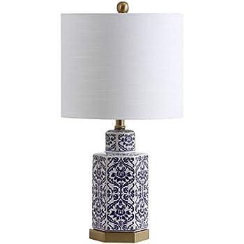 Amazon.com: JONATHAN Y JYL3051A Gretchen - Lámpara de mesa ...