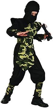 Disfraz ninja militar para niño - 10 - 12 años: Amazon.es: Juguetes y ...
