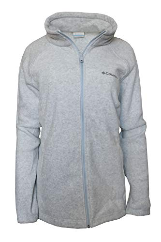 Womens Microfleece Full Zip Jacket - Columbia Women's Plus Sawyer Rapids 2.0 Fleece Full Zip Jacket (Trade Winds Grey, 2X)