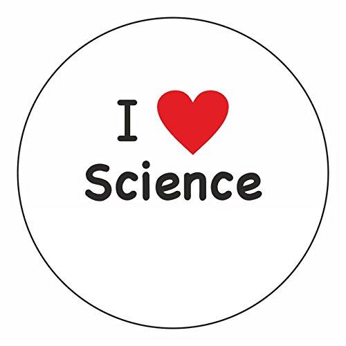 I Heart Science Stickers-AMZ
