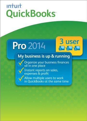 QuickBooks Pro 3 User 2014 Version