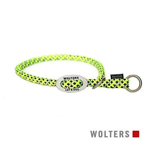 Wolters | Schlupfhalsband Everest reflektierend gelb/schwarz | Halsumfang 35 x B 0,9 cm