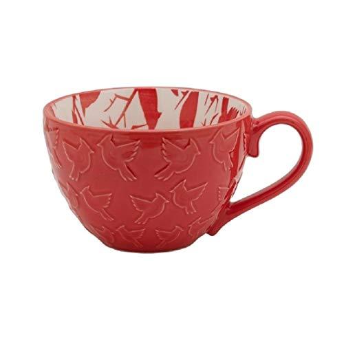 (PFALTZGRAFF Holiday Red Cardinals Coffee Mug 14 Ounce)