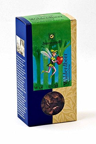 Sonnentor Walderdbeer-Früchtetee lose, 1er Pack (1 x 100 g) - Bio
