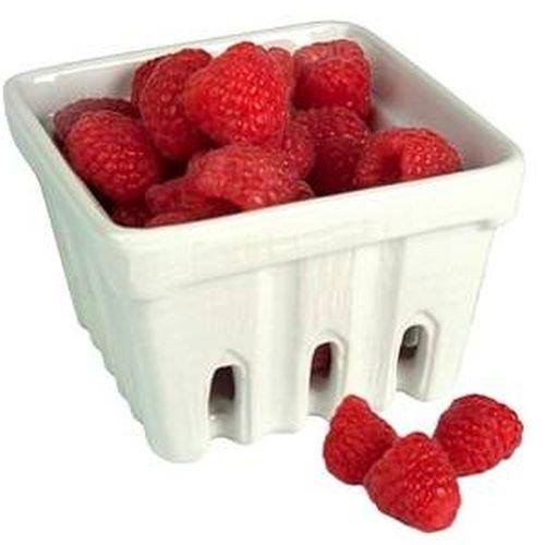 Artland White Ceramic Berry Fruit Basket ()
