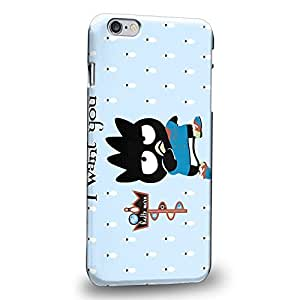 """Case88 Premium Designs Bad Badtz-Maru Collection I Want You To Roll A Strike Protective Snap-on Hard Back Case Cover for Apple iPhone 6 Plus 5.5"""""""