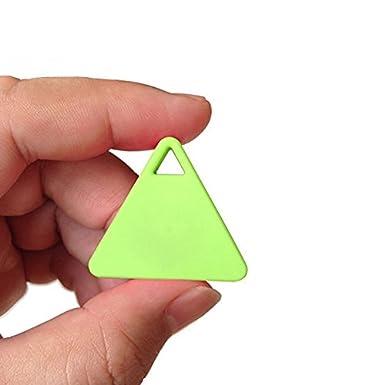 Kabellose Bluetooth 4.0/Schl/üsselfinder Diebstahlschutz Alarm Ger/ät Tracker GPS Locator Schl/üssel//Hund//Katze//Kids//Portemonnaie Finder Tracer f/ür iPhone Android 4.3/ TIRANGLE Form