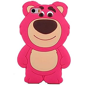 Amazon.com: 3D Teddy Bear Silicone Case for iPhone 6