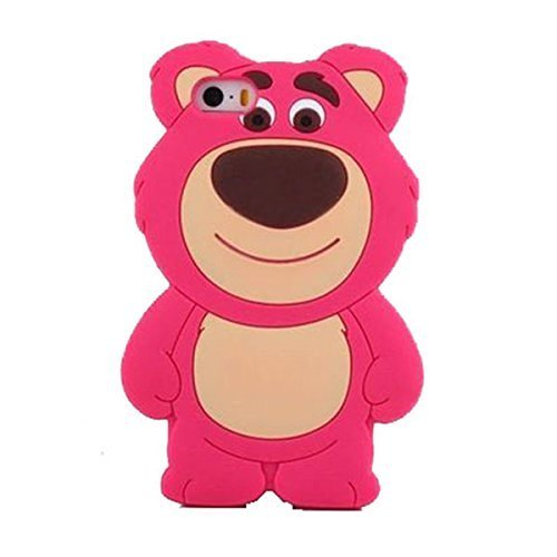 3D Teddy Bear Silicone Case for iPhone 6 / iPhone 6s 4.7