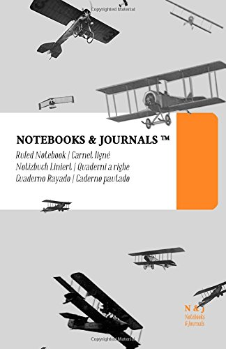 Download Notebooks & Journals, Airplanes (Vintage Collection), Large, Ruled: Soft Cover (5.5 x 8.5)(Classic Notebook, Journal, Sketchbook, Diary, Composition Notebook) ebook