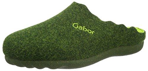 Gabor Home 64685 - Zapatilla de estar por casa Mujer Verde - Grün (Verde)
