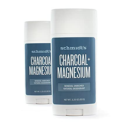 Amazon.com : Schmidts Natural Deodorant - Charcoal + Magnesium 3.25 Oz Stick (Pack of 3) : Beauty