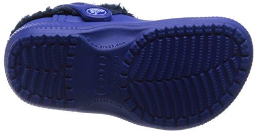 crocs Colorlite Lined Clog Kids Unisex-Kinder Clogs & Pantoletten Blau (Cbna)