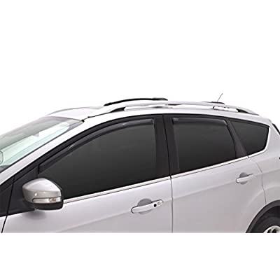 Auto Ventshade 194383 In-Channel Ventvisor Side Window Deflector, 4-Piece Set for 2013-2020 Ford Escape: Automotive