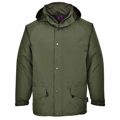Portwest S530 - chaqueta Arbroath, color Armada, talla XL Forest verde