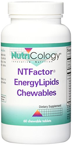 - Nutricology NT Factor Energy Lipids Chewable Tablet, 60 Count
