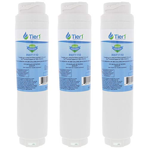 Tier1 Replacement for Bosch 644845 REPLFLTR10 UltraClarity, 644845, 9000194412, 740570, 9000077095, 9000193914 Refrigerator Water Filter 3 Pack