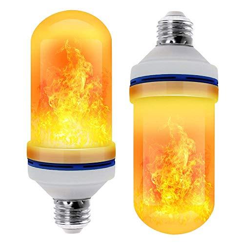 Idebris LED Flame Effect Light Bulb 2