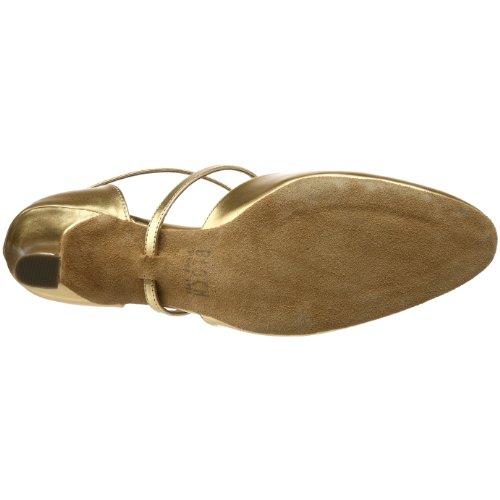 Bloch Damen Simona Ballroom Schuh Gold