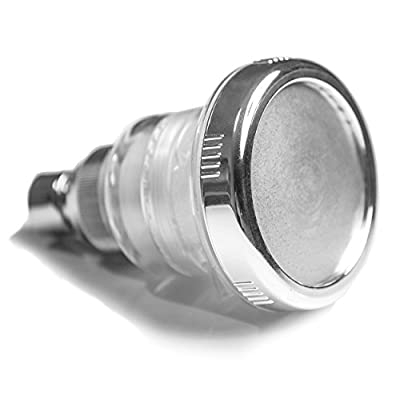 Filtered Shower Head, Removes Chlorine with Replacement Filter, Multiple Settings, Wall-Mount,The Clearly Pure Shower Head