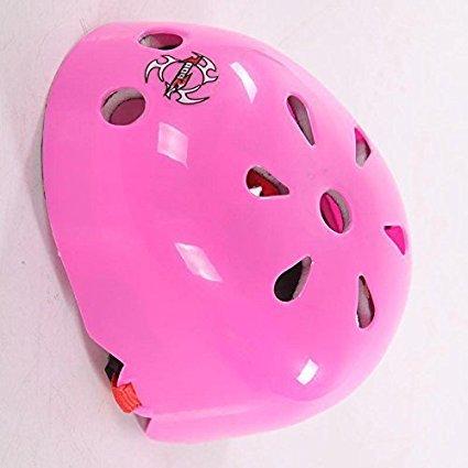 NUMBERNINE, Kid Boy Bicycle Skate Helmet Sports Cycling Safety Head Protective Skateboard BH,bike helmet kids (Red Roed)