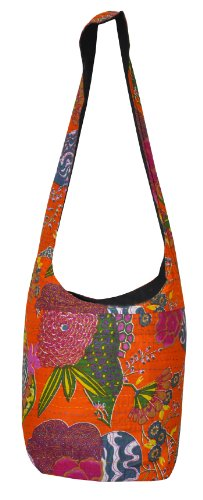 Kantha Jhola Bags For Women Velentines Day Gifts 12 X 15 Inches