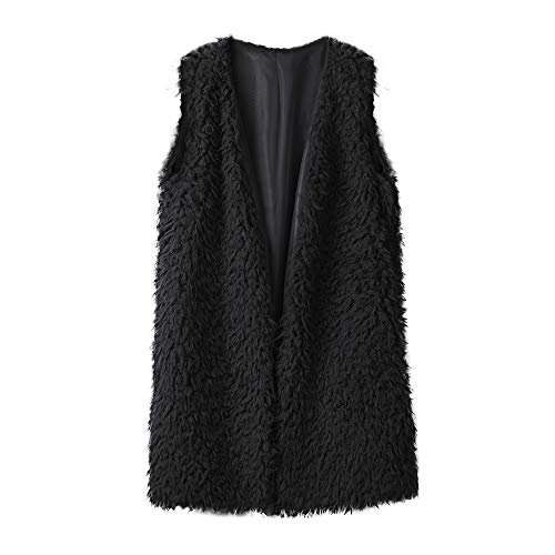 Manches Sans Irrégulier Femmes Hiver Solike Noir Chaude Cardigan Tops Casual Pull Gilet Outwear Manteau Pulls qwP44fvt