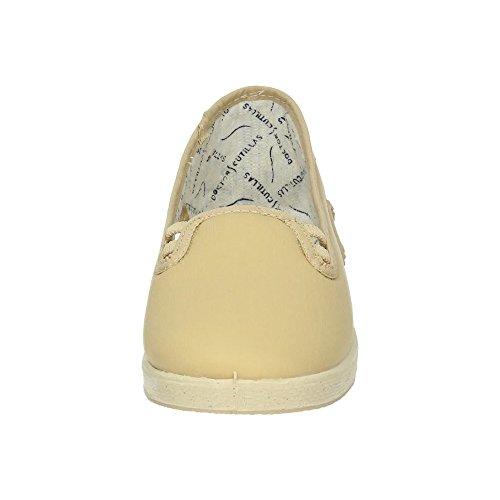ZAPATOP Damen Sneakers Beige