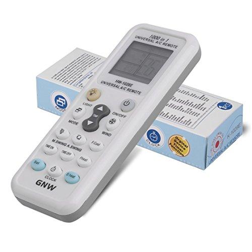 Exiao2MX Regulador teledirigido Universal Profesional del LCD para el acondicionador de Aire Gran Pantalla LCD Consumo bajo...