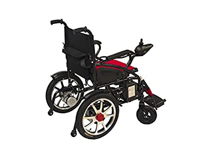 ComfyGO Electric Wheelchair Folding Motorized Power Wheelchairs, Fold Foldable Power Compact Mobility Aid Wheel Chair, Powerful Dual Motor Wheelchair, FDA Approved