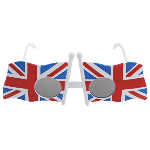 Case With Marble - Fashion British America Us Uk Flag Party Glasses Adult Costume Accessory Fancy Dress Funny - Bedroom Decorating Party Supplies Pillows Decoration Decorative ()