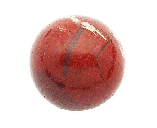 Rainbow Jasper Gemstone - Fundamental Rockhound Products: 20 mm Rainbow Jasper Gemstone Sphere with Stand
