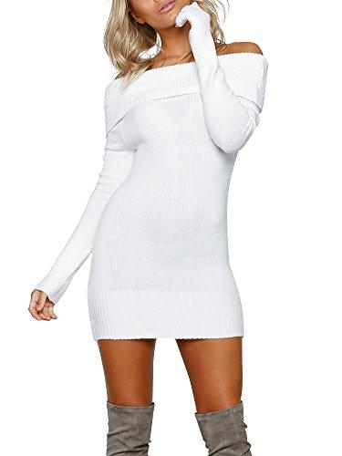 cowl neck belt sweater dress - 9