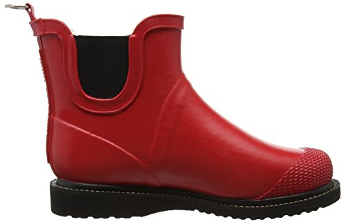 Cold Short Rot Rubber 303 Bootees ILSE Lined Shaft JACOBSEN Rub47f Kurz Women's Damen Tief Boots Boots Gummistiefel Red amp; gSqwY1